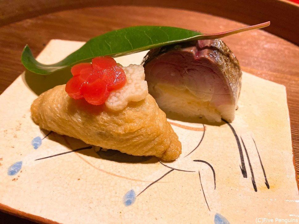 こんなに美味しい鯖寿司は初めてかも