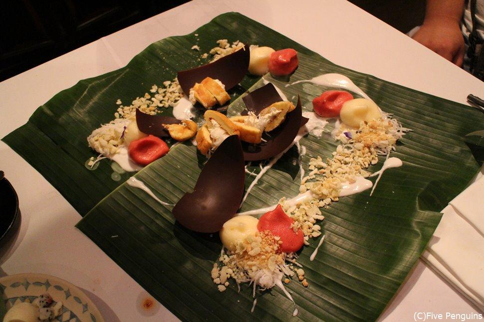 タイの鉄人シェフによるおしゃれな創作料理