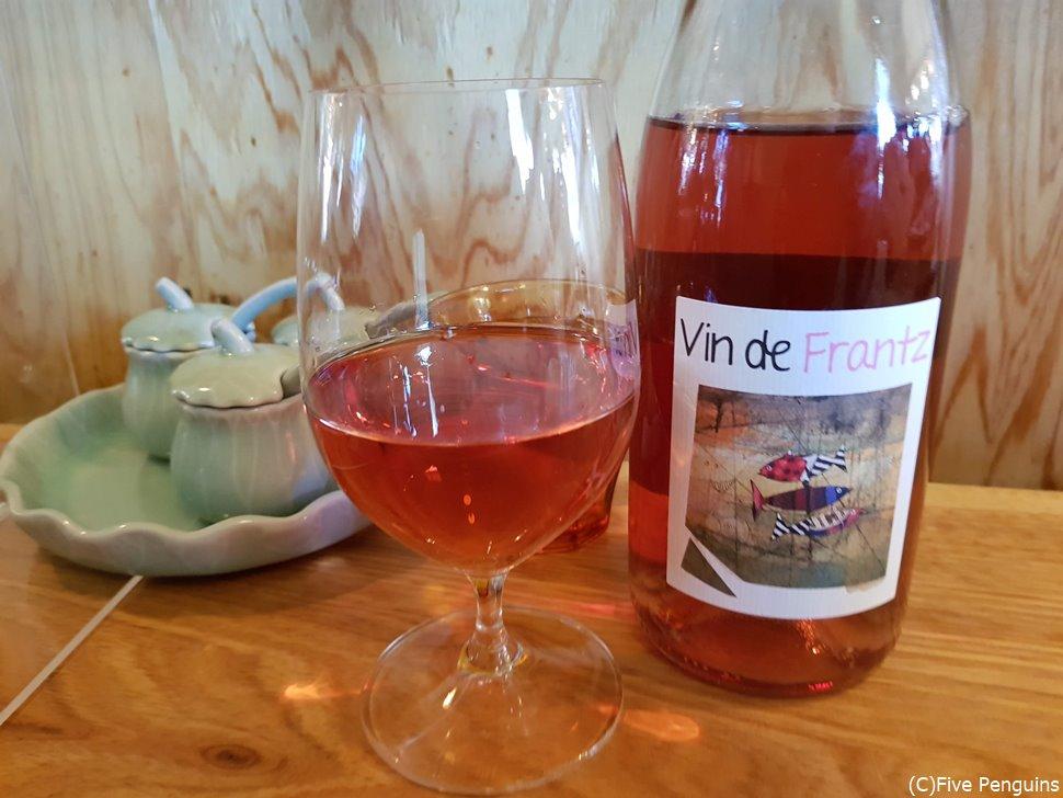 フランス産のナチュールワインのみをストック