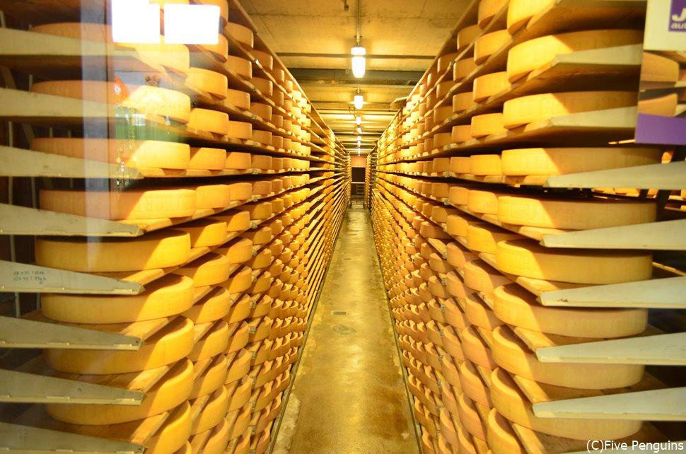 チーズ製造所<グリュイエール>