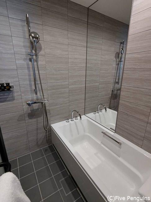 洗い場付きのバスルームが好き!