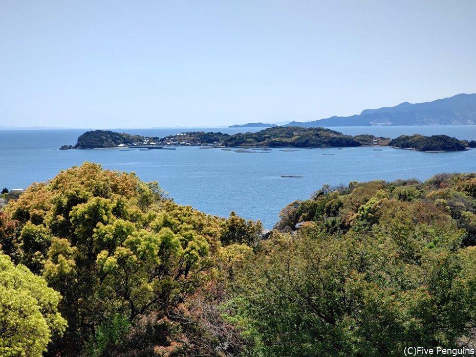 こんなに自然が豊かで環境抜群の頭島