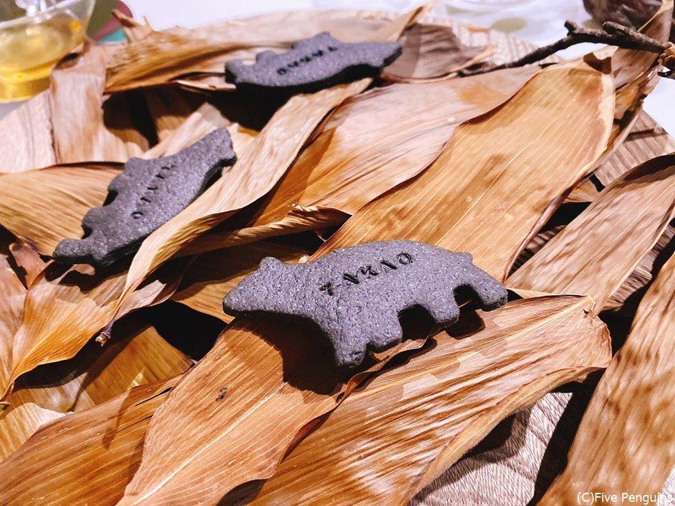 熊笹茶のクッキー