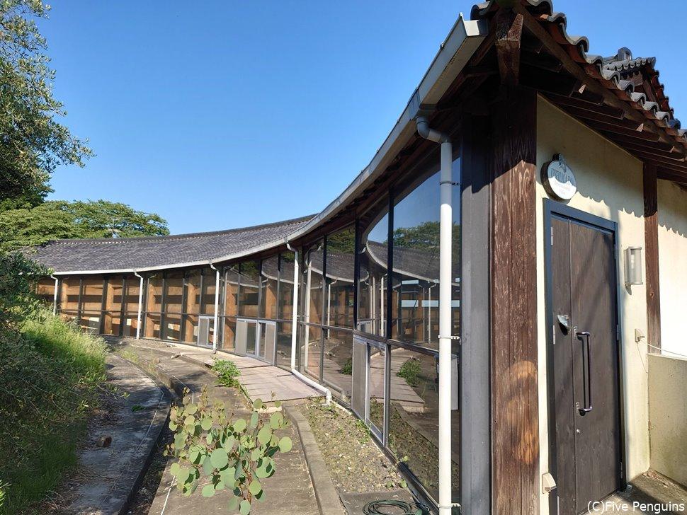 牛窓国際交流ヴィラが併設している建物