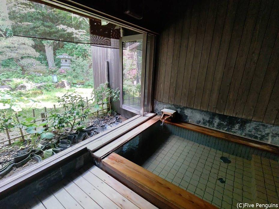 5つある貸切風呂のひとつ 私は入れない!!