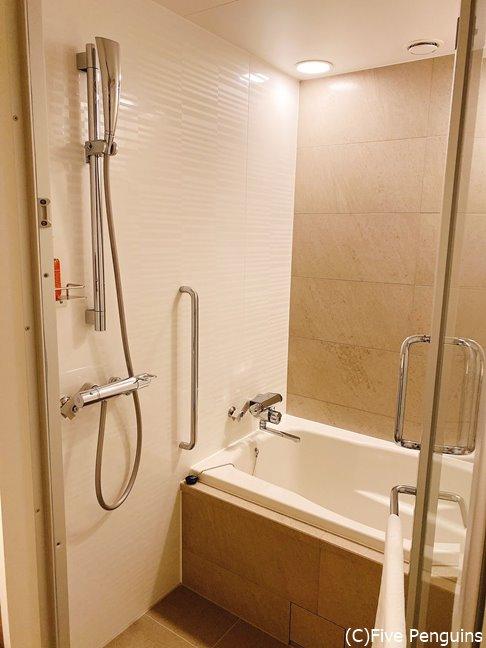 洗い場付きのバスルームは今やトレンド