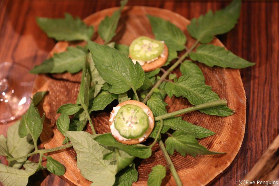 有機無農薬野菜や山菜を用いた美しくヘルシーな料理