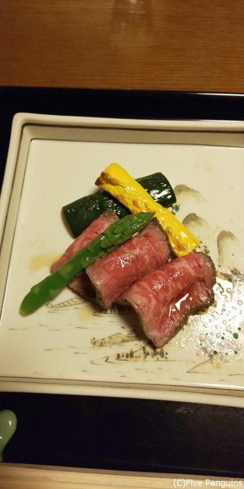 ローストビーフもお肉が美味しい