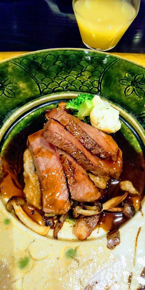 がっつりお肉が出たら、この後〆はご飯です