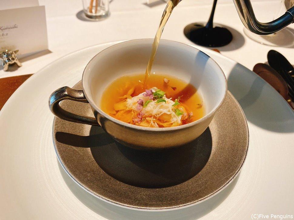 さあ、極上のスープを召し上がれ