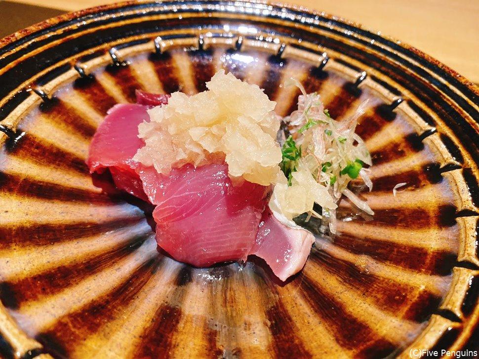 サスエ魚店仕入でネタが最高のもちカツオ、最高の食べ方