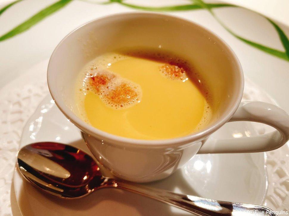 トウモロコシのスープはまるで市販の味。