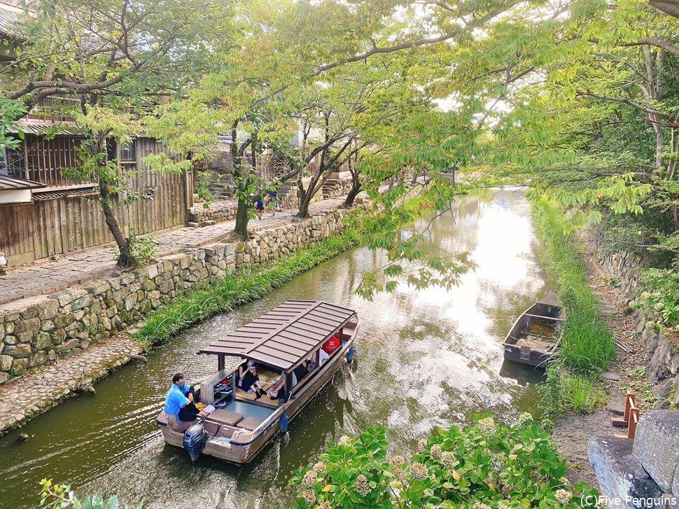 小舟で水郷めぐりのツアーはおすすめ