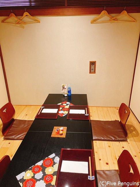 個室もあるので接待やデートでも使いやすいです