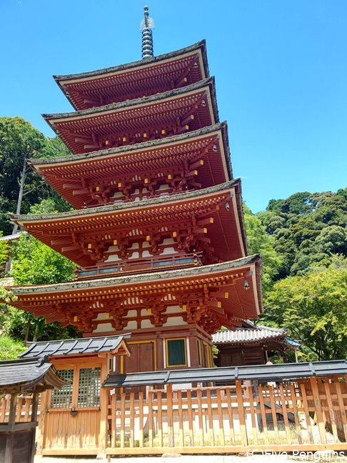 関西人に長谷寺といったら五重塔もあるこちら!