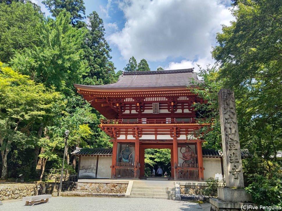 女人高野と呼ばれる室生寺