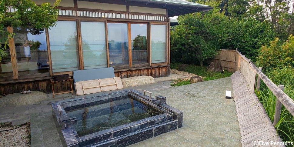 HIRAMATSUにあって異色な数寄屋造りの和室