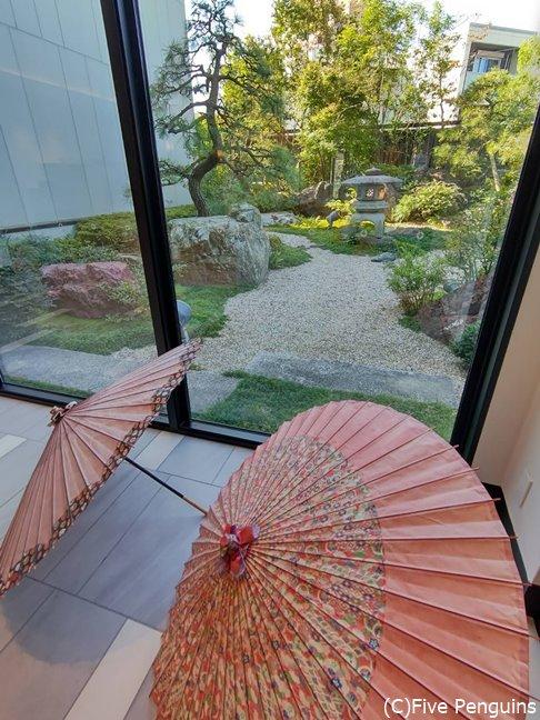 シティホテルなのに日本的な情緒もたっぷり