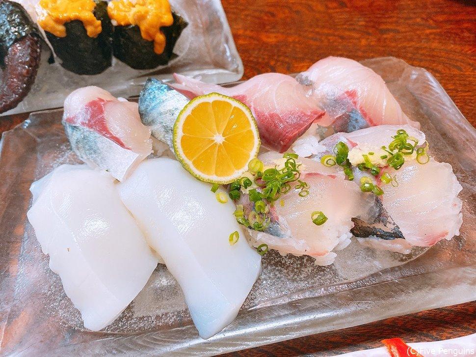 大分と言えば「かぼす」!お寿司にもスダチではなくこちらを使います。