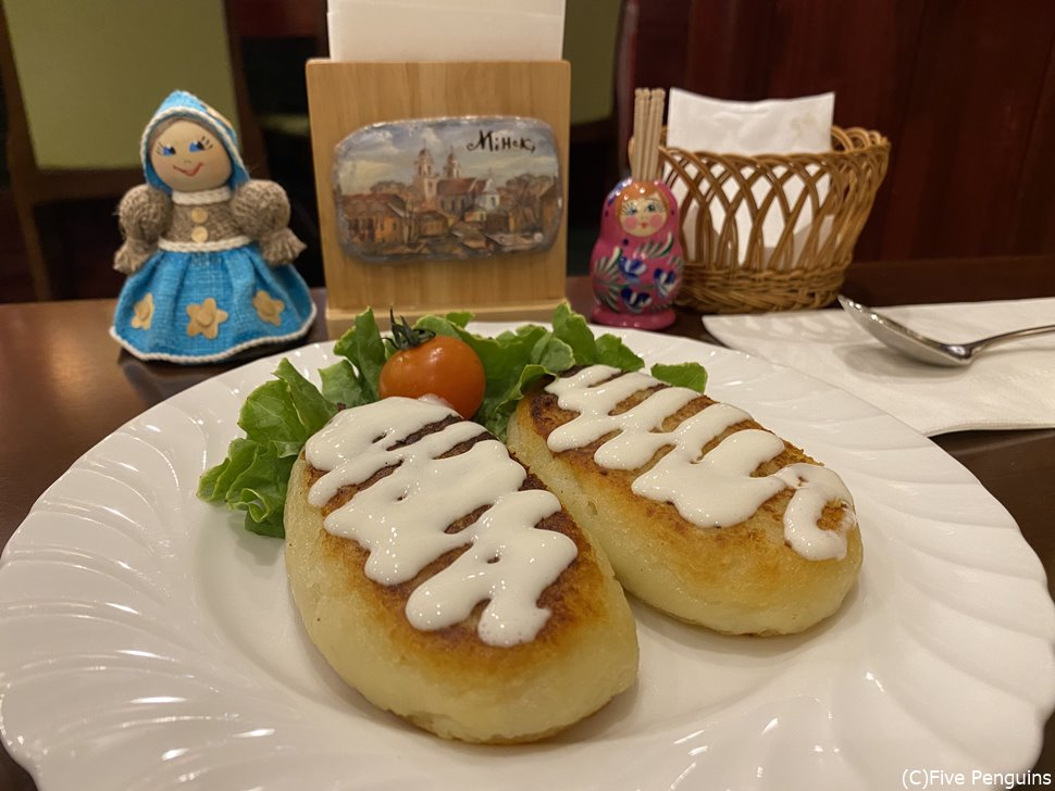 伝統的なジャガイモ料理「ズラズイ」